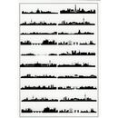 black film sheet - city skylines